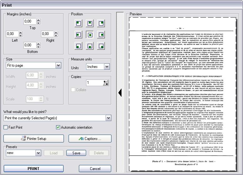 Advanced Multi-page TIFF Editor  Multipage TIFF (TIF), PDF